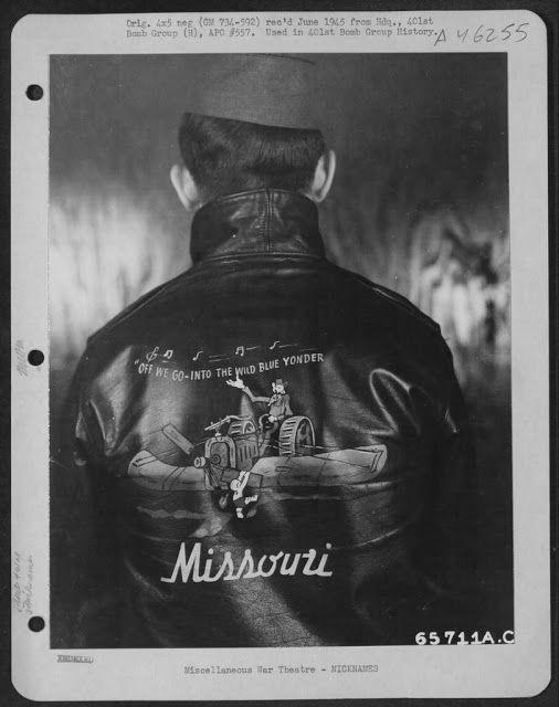 vintage everyday: Bomber Jacket Art – See U.S. Air Force Pilots ...