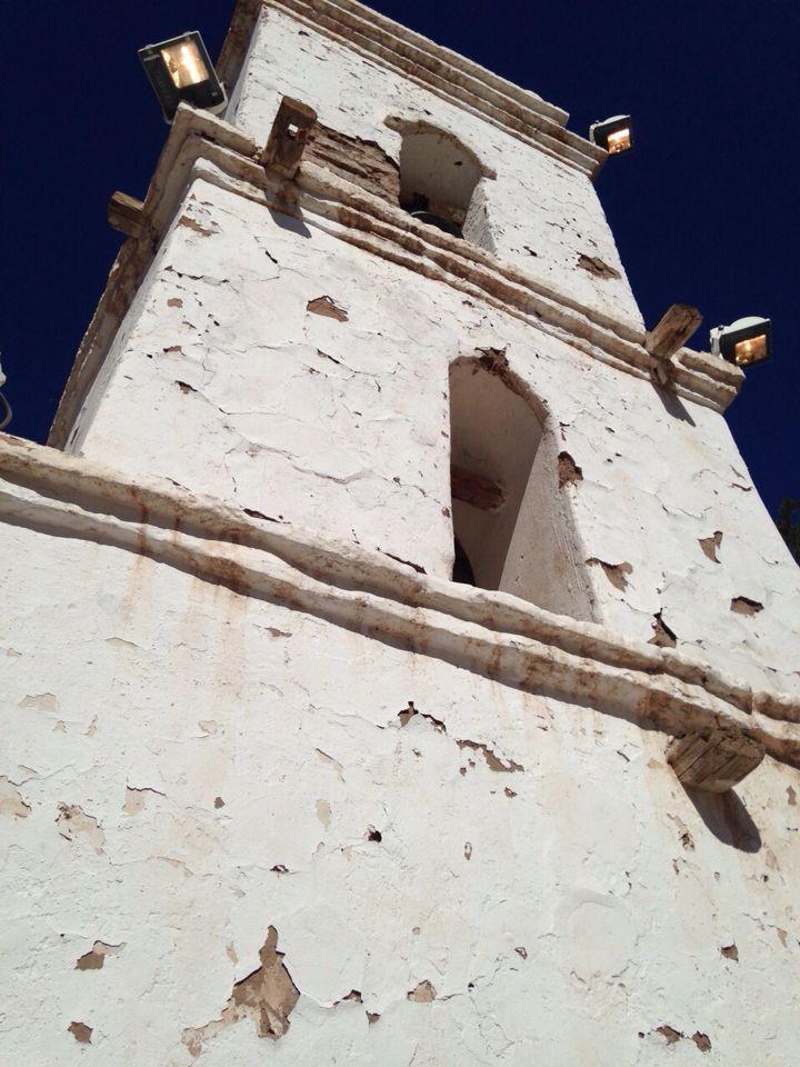 Campanario de Iglesia en Toconao, San Pedro de Atacama