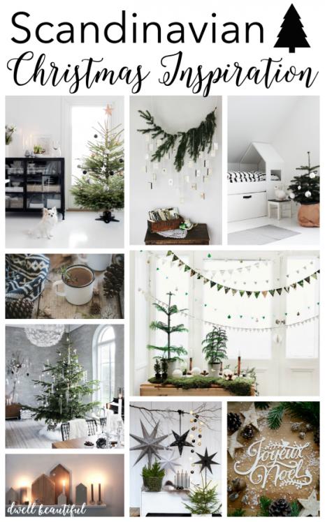 Photo of Scandinavian Christmas Inspiration – Dwell Beautiful
