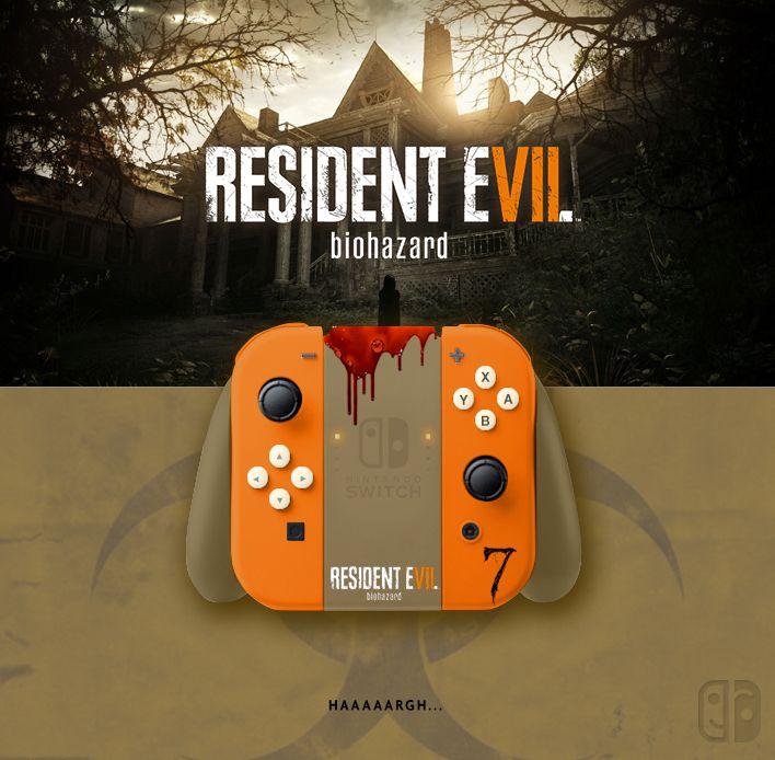 Joy Con Resident Evil 7 Biohazard If U Like It Follow Me On