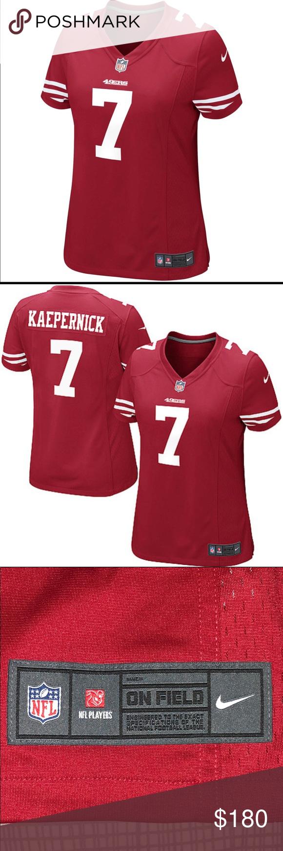 best cheap 541d6 29b92 🏈official Nike NFL Kaepernick Jersey🏈nwot 🏈my husband ...