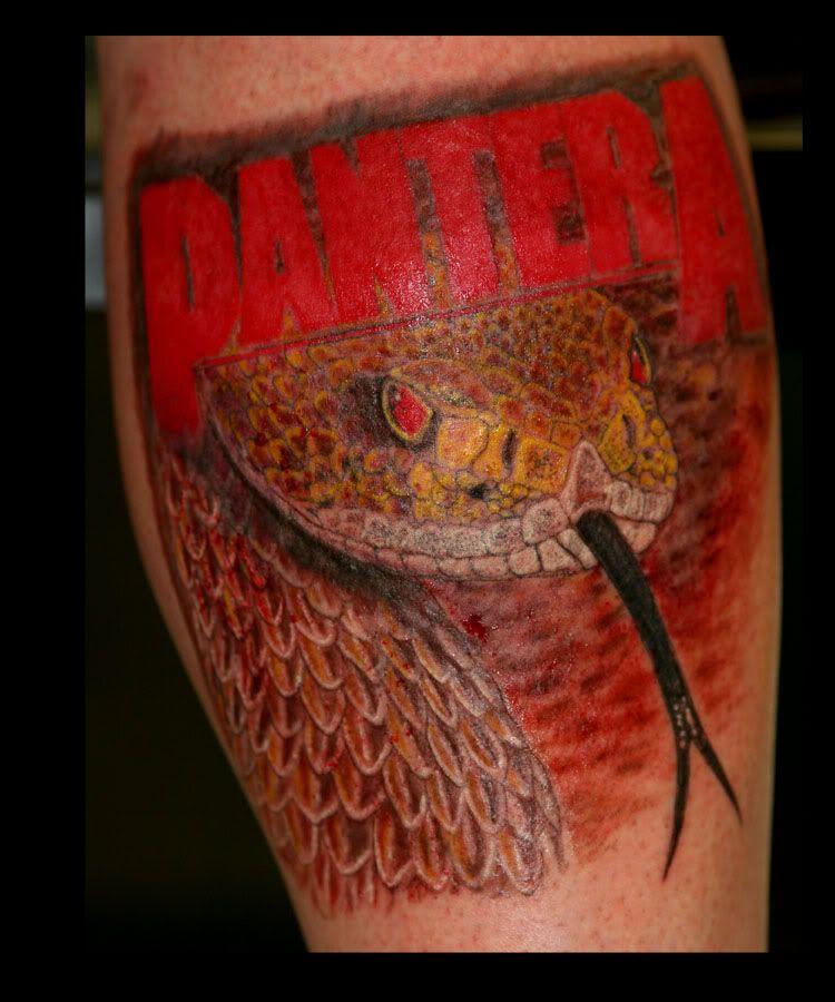 Pantera The Great Southern Trendkill Heavy Metal Tattoo