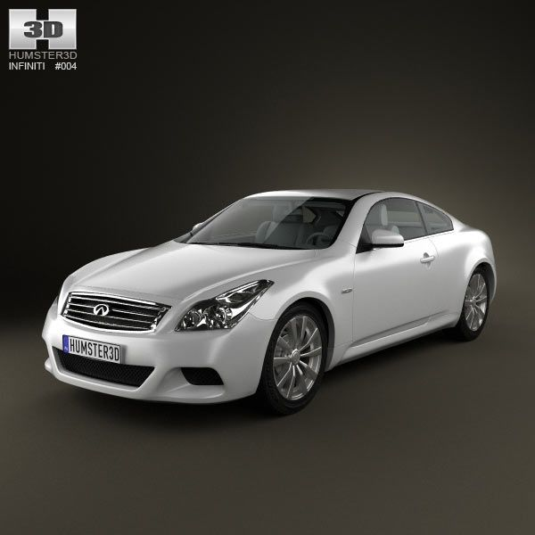 2010 Infiniti G37 Convertible: Infiniti G37 Coupe 3d Model From Humster3d.com. Price: $75
