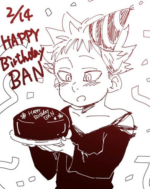 HAPPY BIRTHDAY BAN!!!!  discovered by Miss_Himitsu