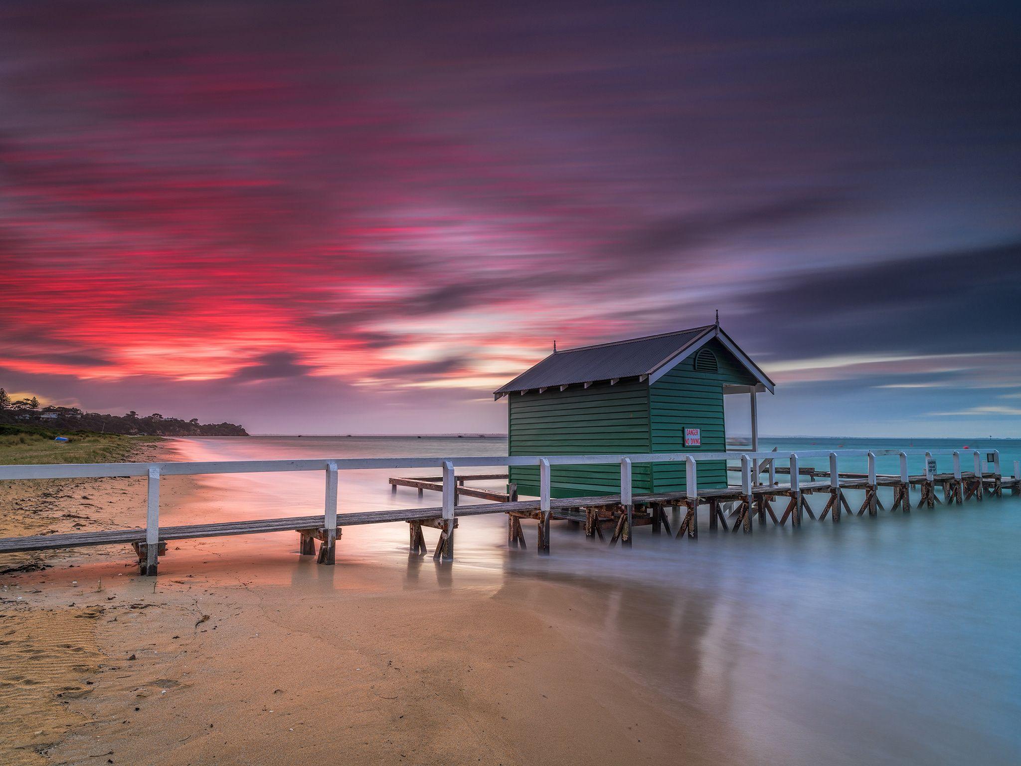 Shelley Beach Sunset by bjornbaklien1 on 500px