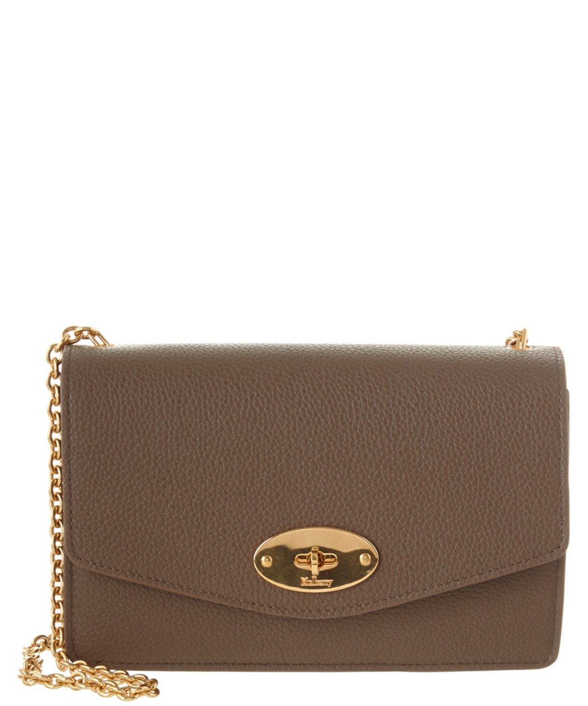 MULBERRY Mulberry Darley Small Classic Grain Leather Crossbody'. #mulberry #bags #shoulder bags #leather #crossbody #lining # #mulberrybag