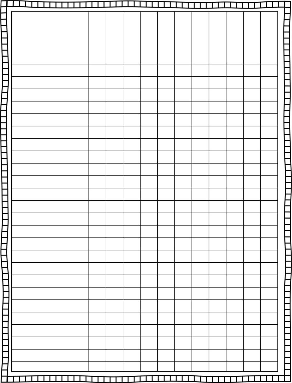 Classroom schedule template for teachers finally a cute for Tracking sheet template for teachers