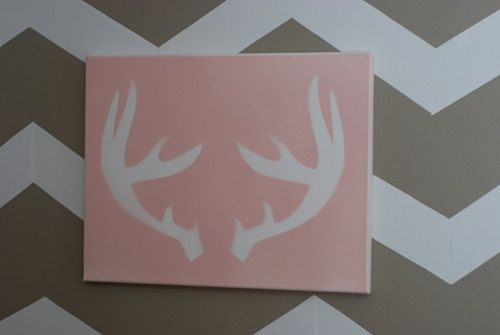 antler silhouette now available $24.99! postscripts.etsy.com
