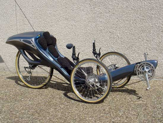 various homebuilt recumbent trikes and bikes - drie wiel - Веб-альбомы Picasa