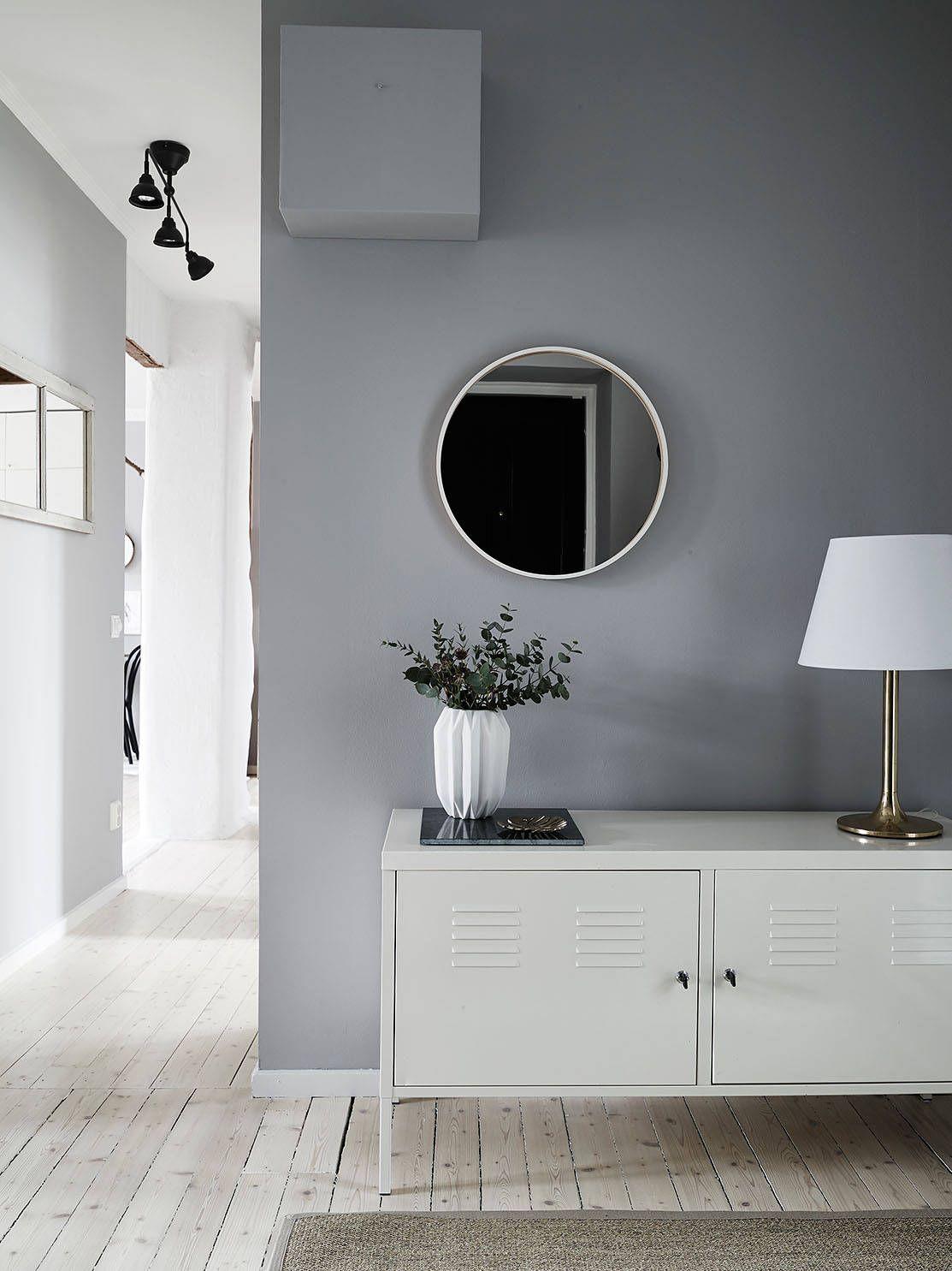Ein Flur in kühlem Grau und skandinavischem Stil ♥ | Wohnen ...