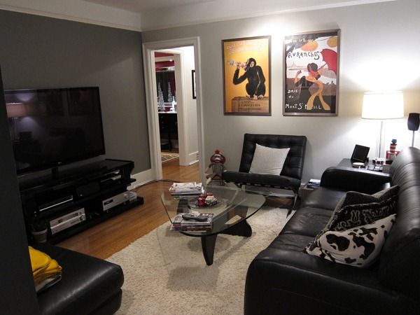 Revere Pewter And Chelsea Gray Grey Accent Wall Basement Colors