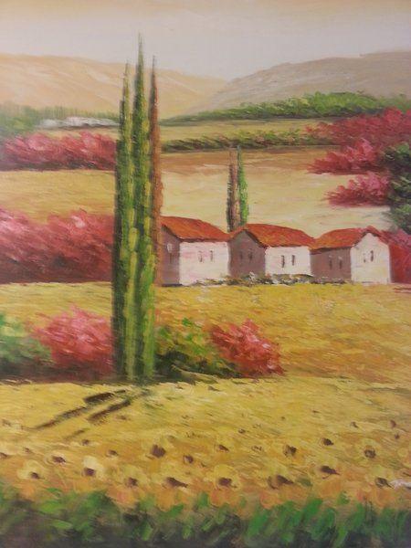 """Oil Painting """"Field of Dreams II"""""""