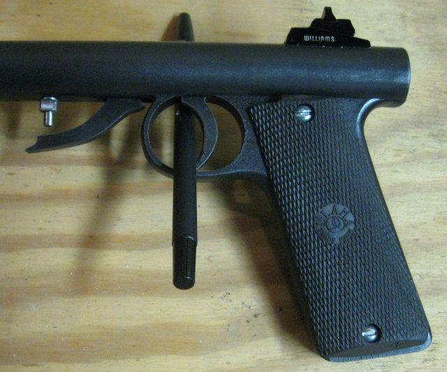 Arme Prototype underhammer pistol prototype   black powder firearms   black powder