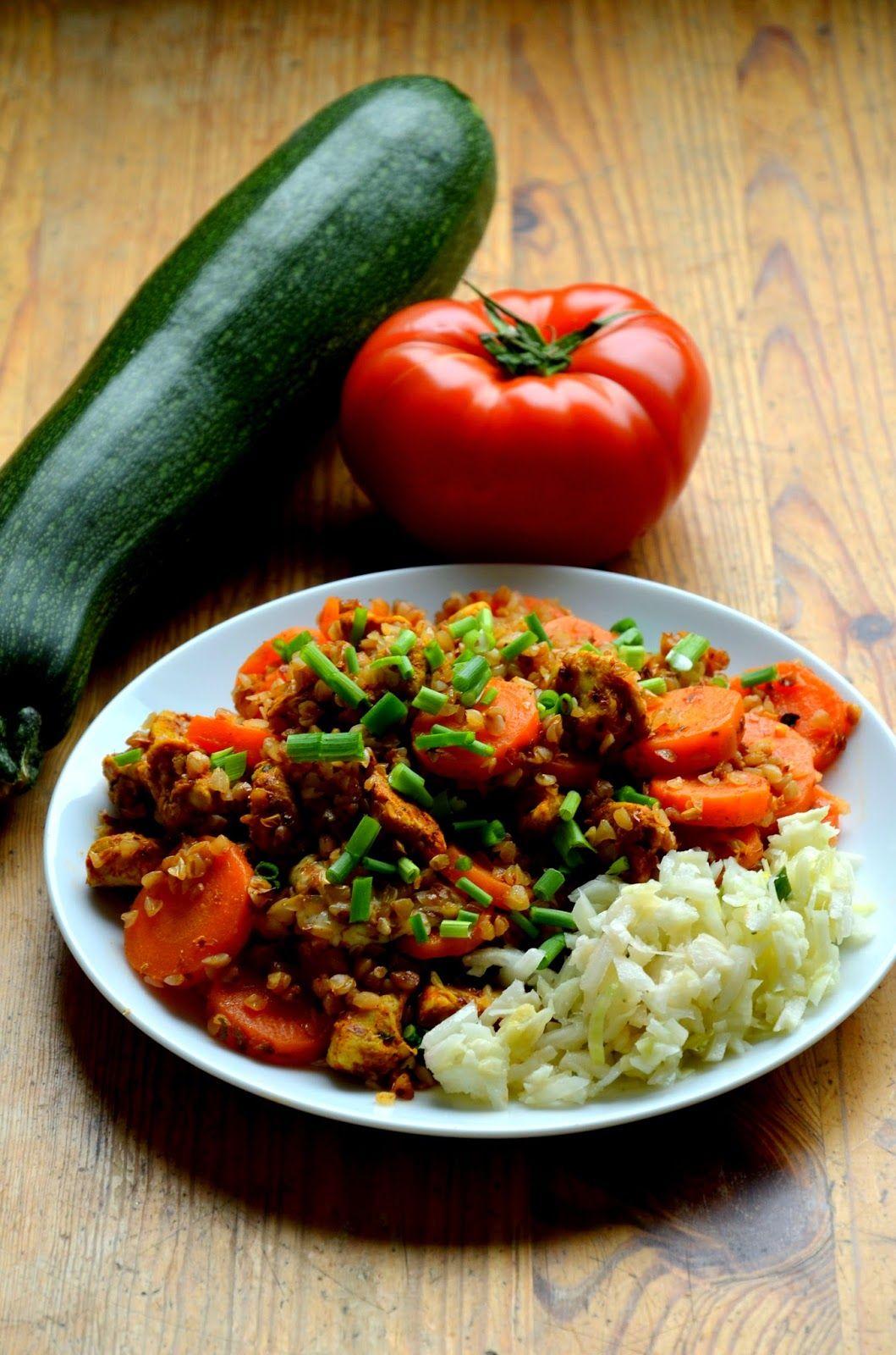Zdrowy Obiad W Trybie Ekspresowym To Mozliwe Wyprobujcie Koniecznie Polaczenie Marchewki Z Kasza Gryczana I Kurczakiem Jest Pyszne Meals Food Dinner