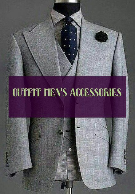 Outfit Men's Accessories Outfit Herrenaccessoires