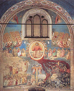 Le Jugement Dernier Fresque De Giotto : jugement, dernier, fresque, giotto, Judgement, Giotto, Padoue,, Médiéval,, Byzantin