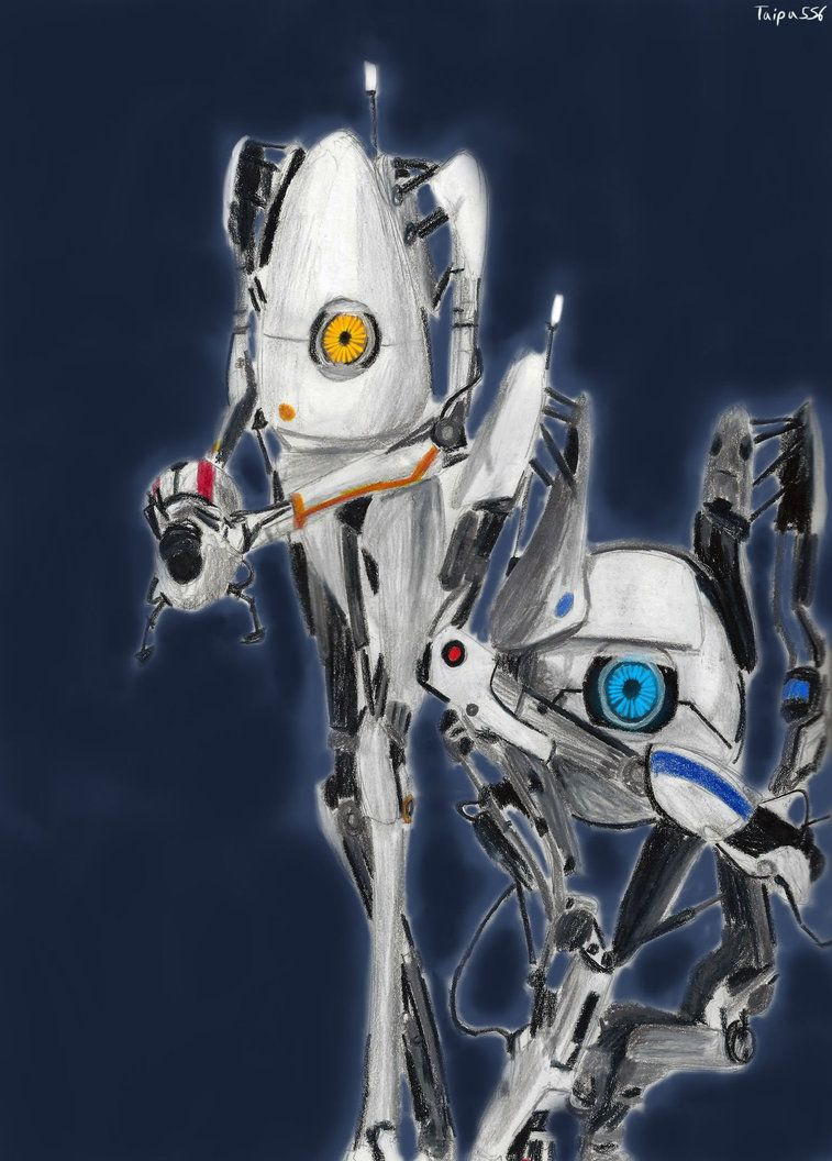 unveiled in Portal 2 as the Co-operative testing initiative robots