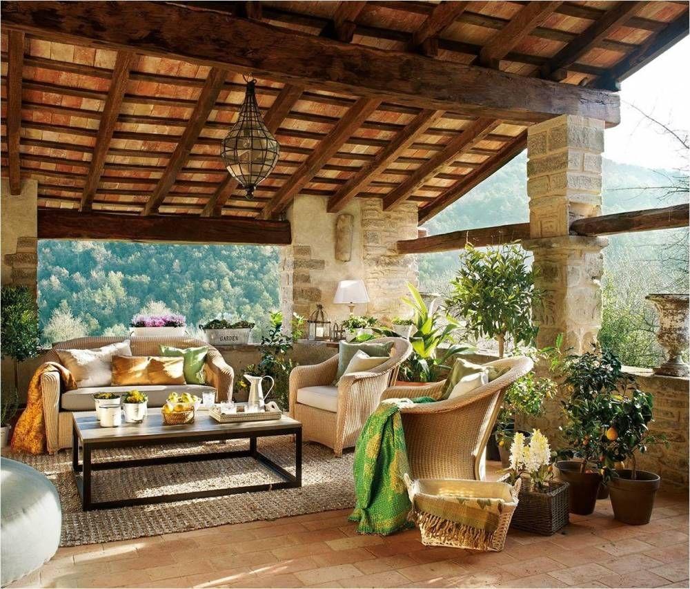 Terraza r stica terrazas con encanto pinterest for Terrazas de campo