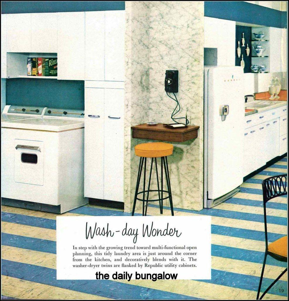 1956 Praise Winning Kitchens Retro Kitchen Antique Kitchen Home