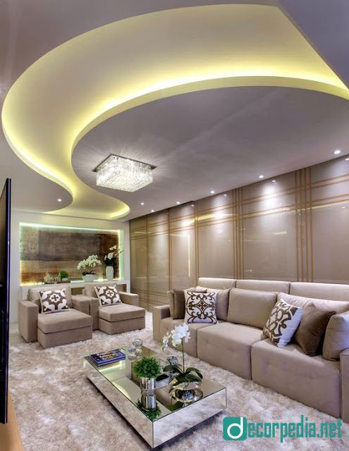 Latest false ceiling design ideas for modern interior room living also rh pinterest
