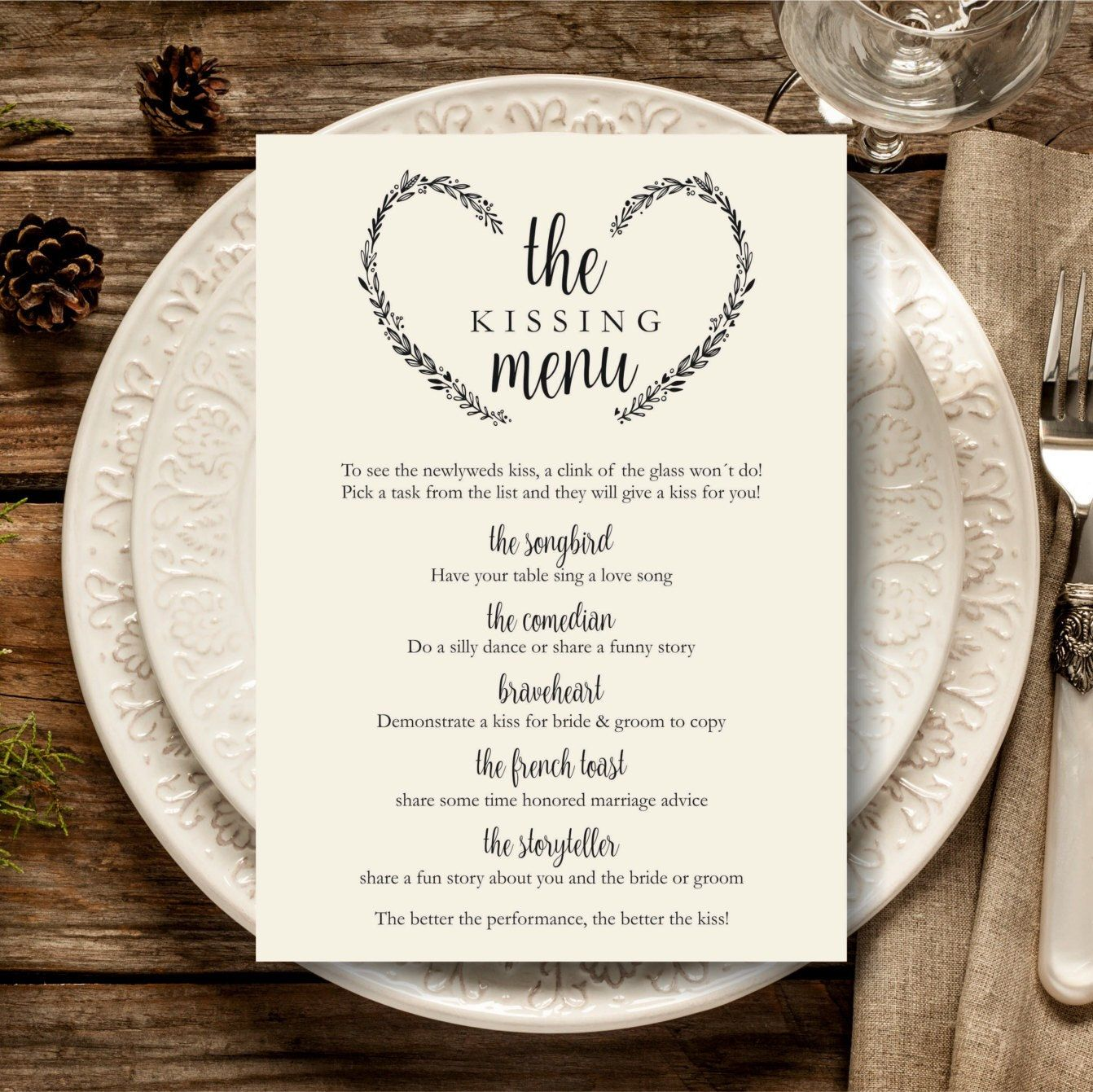 Printable Menu  Starry Night  Printable Menu Menu Templates And