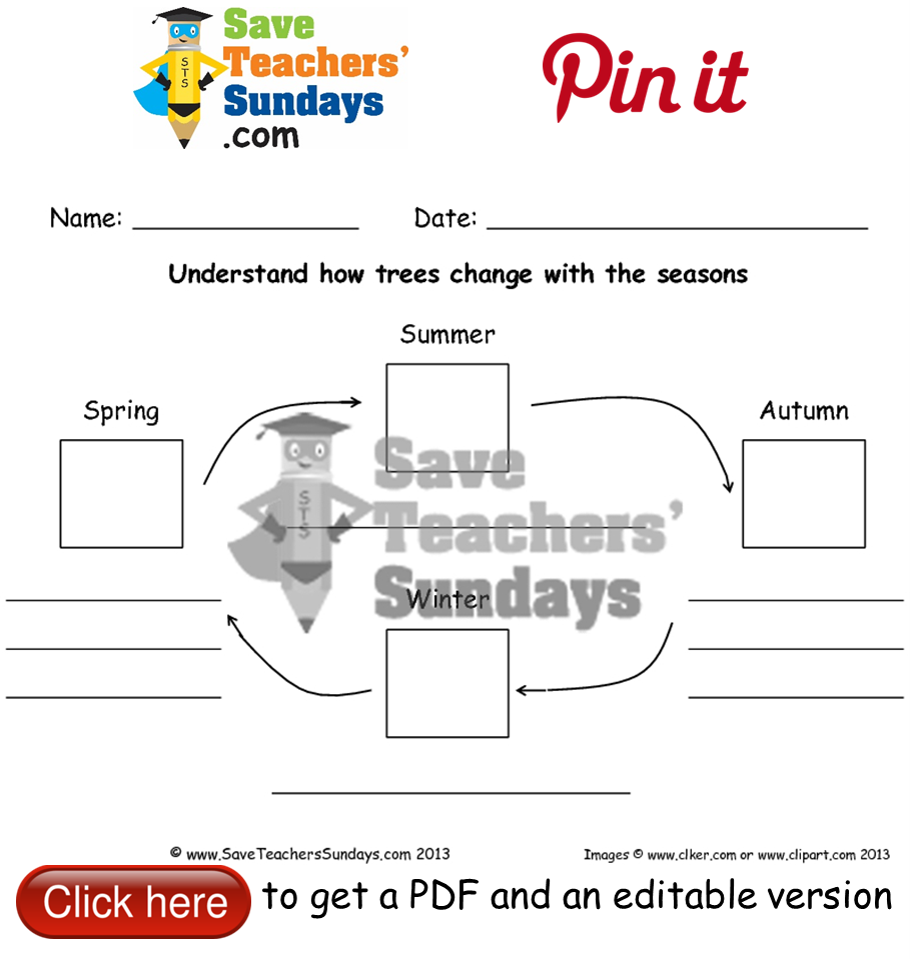 Worksheets Seasons Worksheet how an apple tree changes with the seasons worksheet go to http http