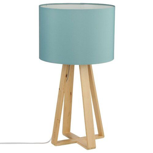 Dunstan Table Lamp 17 Stories Shade Colour Blue Tripod Lamp Bedroom Lamps Furniture Movers