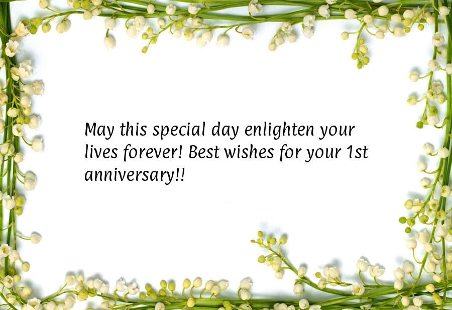 May This Special Day Enlighten Your Lives Forever Best Wishes For