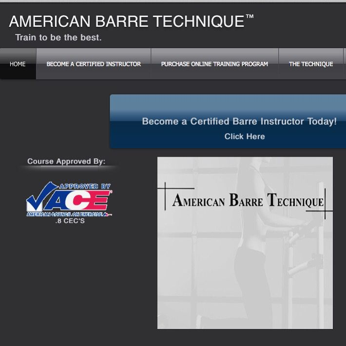 Start Your Journey As A Certified Barre Instructor With American