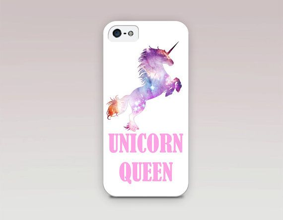 Unicorn Queen Phone Case For iPhone 6 Case iPhone 5 by CRCases  bf1db92562