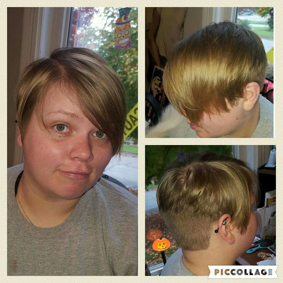 Awesome Short Hair Shaved Underneath And Longer On Top Lovemyjob