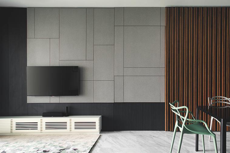 8 Design Ideas For Simple Contemporary Feature Walls 5 Living Room Decor Modern Interior Design Living Room Home