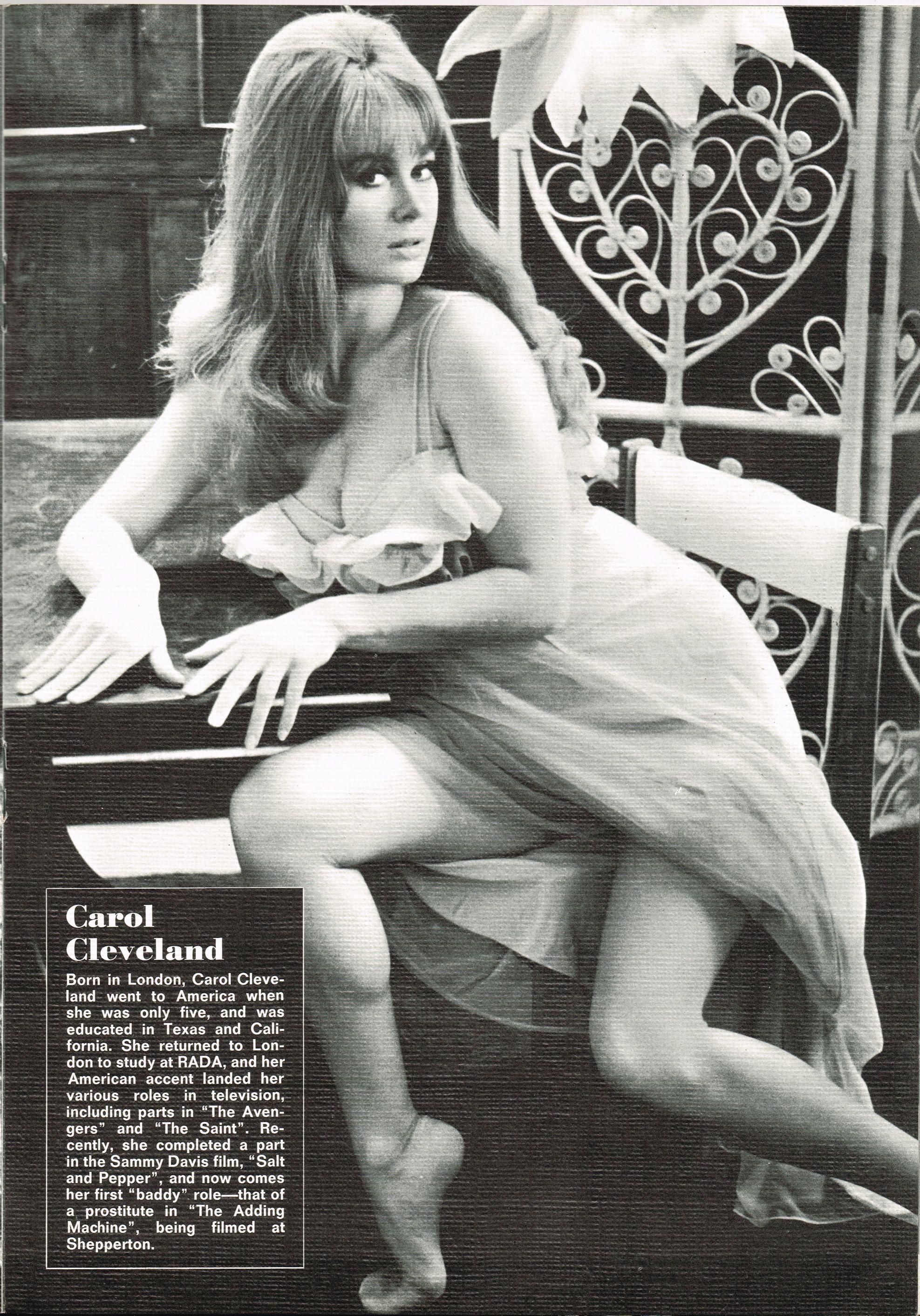 Sexy pic carol cleveland