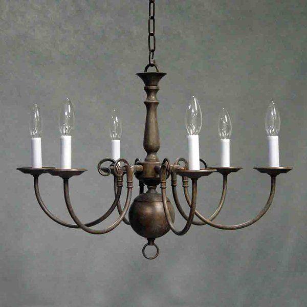 Volume International V3556 6 Light Chandelier Dining Room