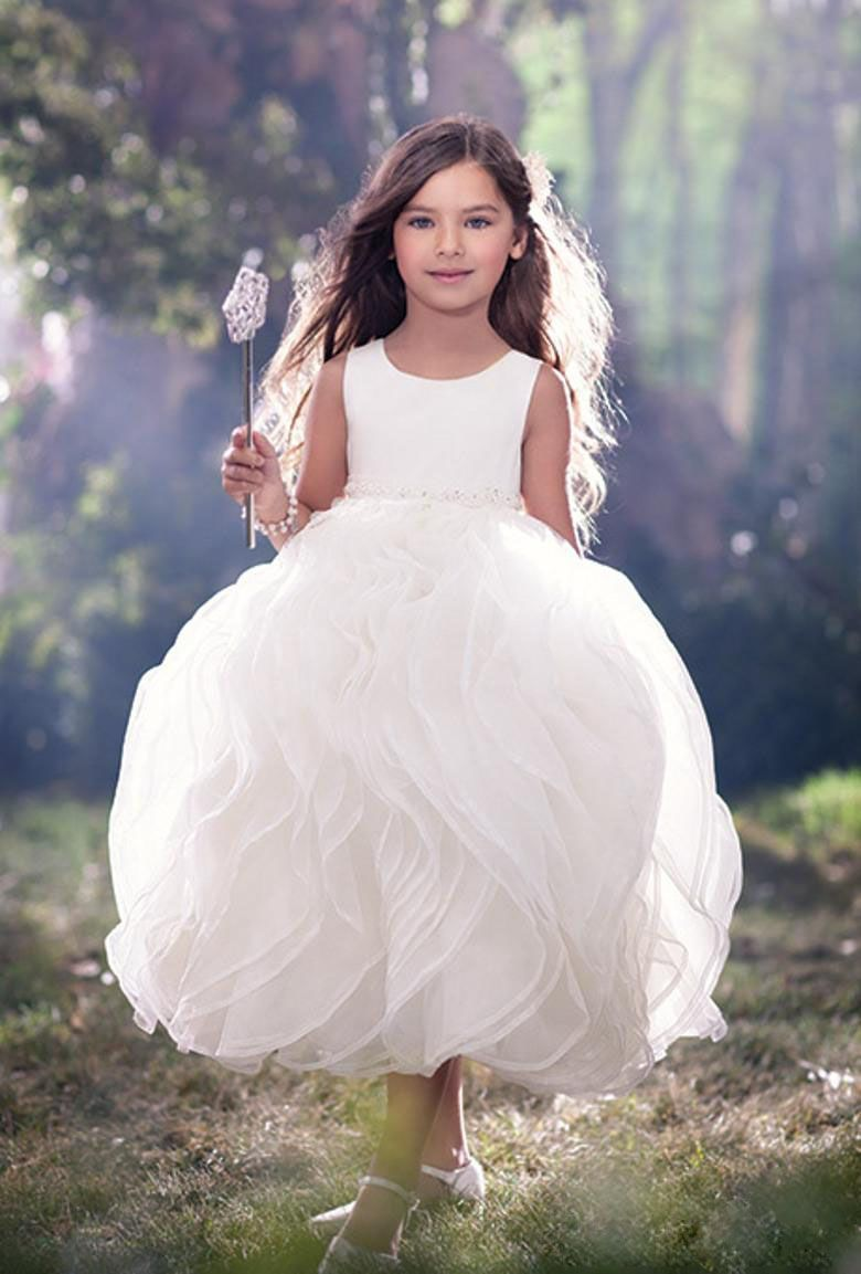 2016 puffy vintage flower girl dresses for weddingtoddler pageant 2016 puffy vintage flower girl dresses for weddingtoddler pageant dress for girl bridesmaid prom ombrellifo Images