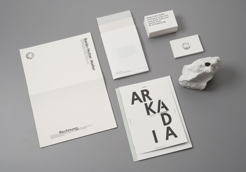 Barao Hutter Atelier Design   Branding  Identity Pinterest