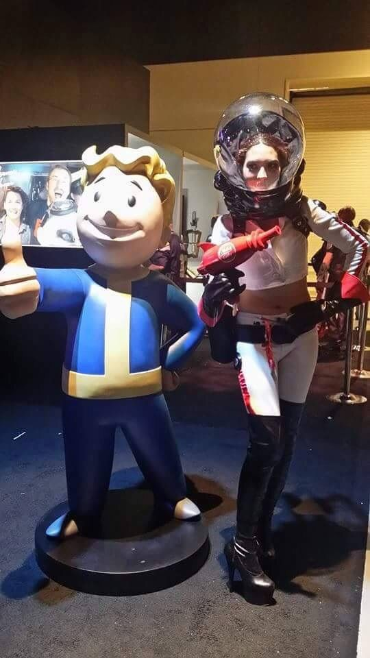 Nuka cola girl costume