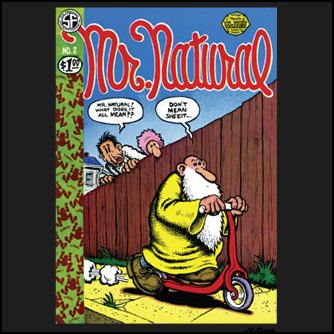 Mr Natural What Does It All Mean Comic Book Cover T Shirt Shown Here On A Black Tee Robert Crumb Robert Crumb Comic Robert Crumb Art