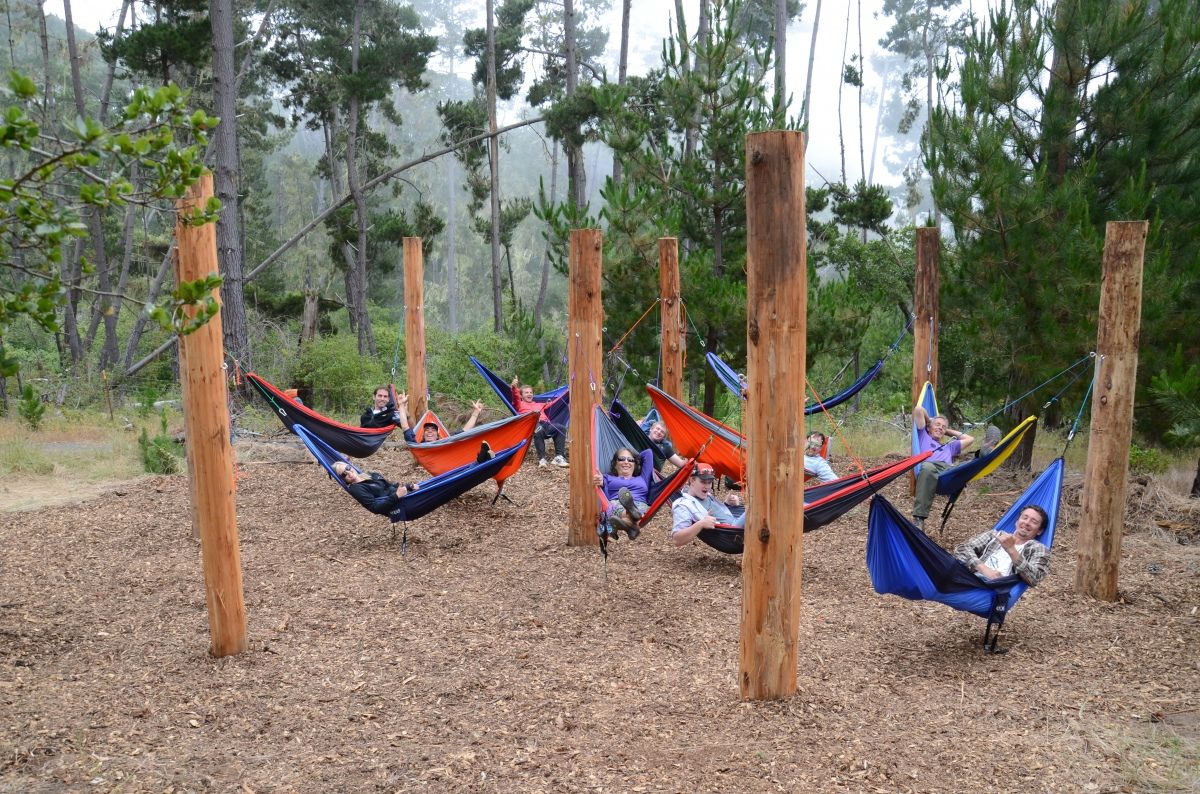 Hammock village | Outdoor hammock, Backyard hammock, Hammock