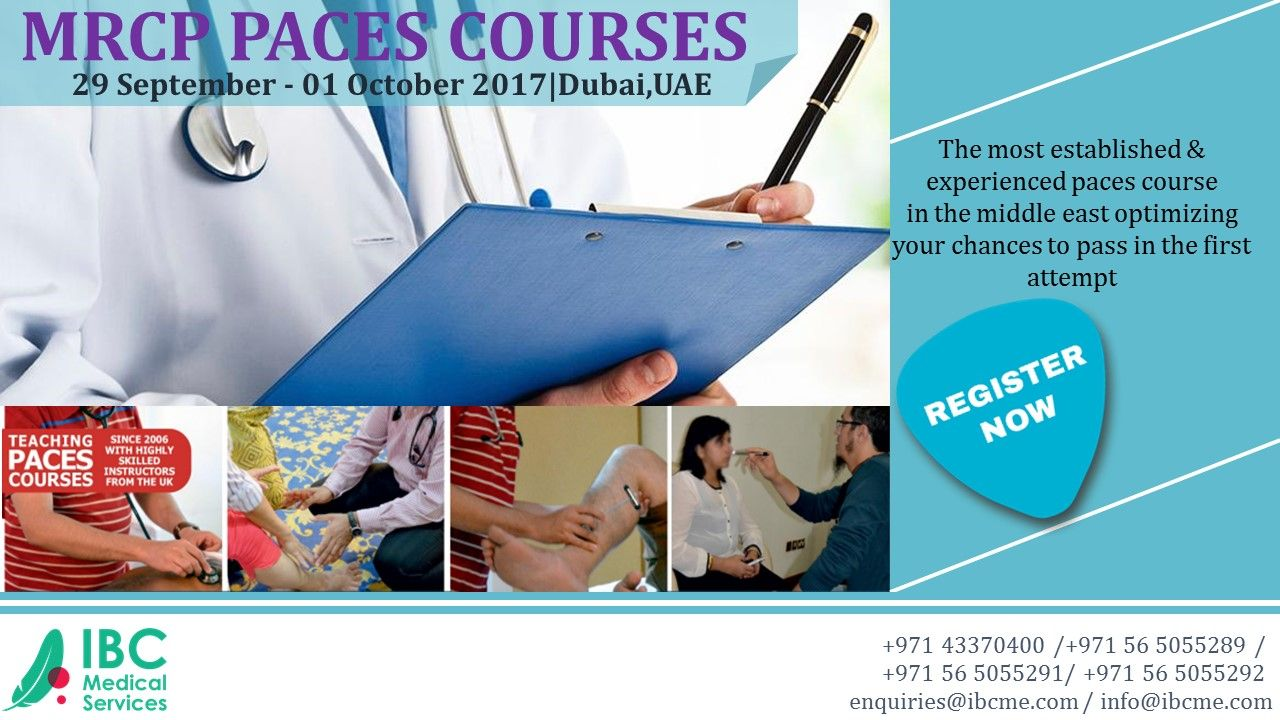 11 years of experience in teaching MRCPPACES courses with