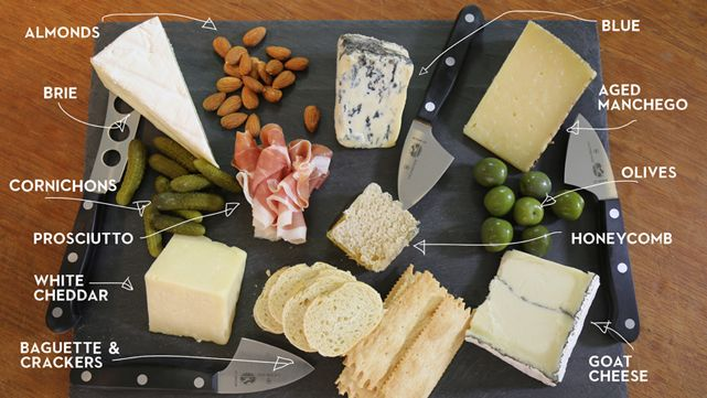 With these few tips from Sam the Cooking Guy you will pull off a great selection of cheeses and condiments to make an amazing cheese plate.