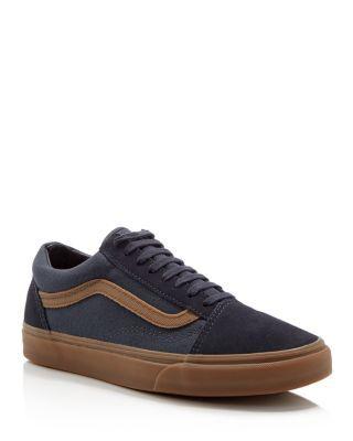 Vans Old Skool Gum Stripe Sneakers | Bloomingdale's