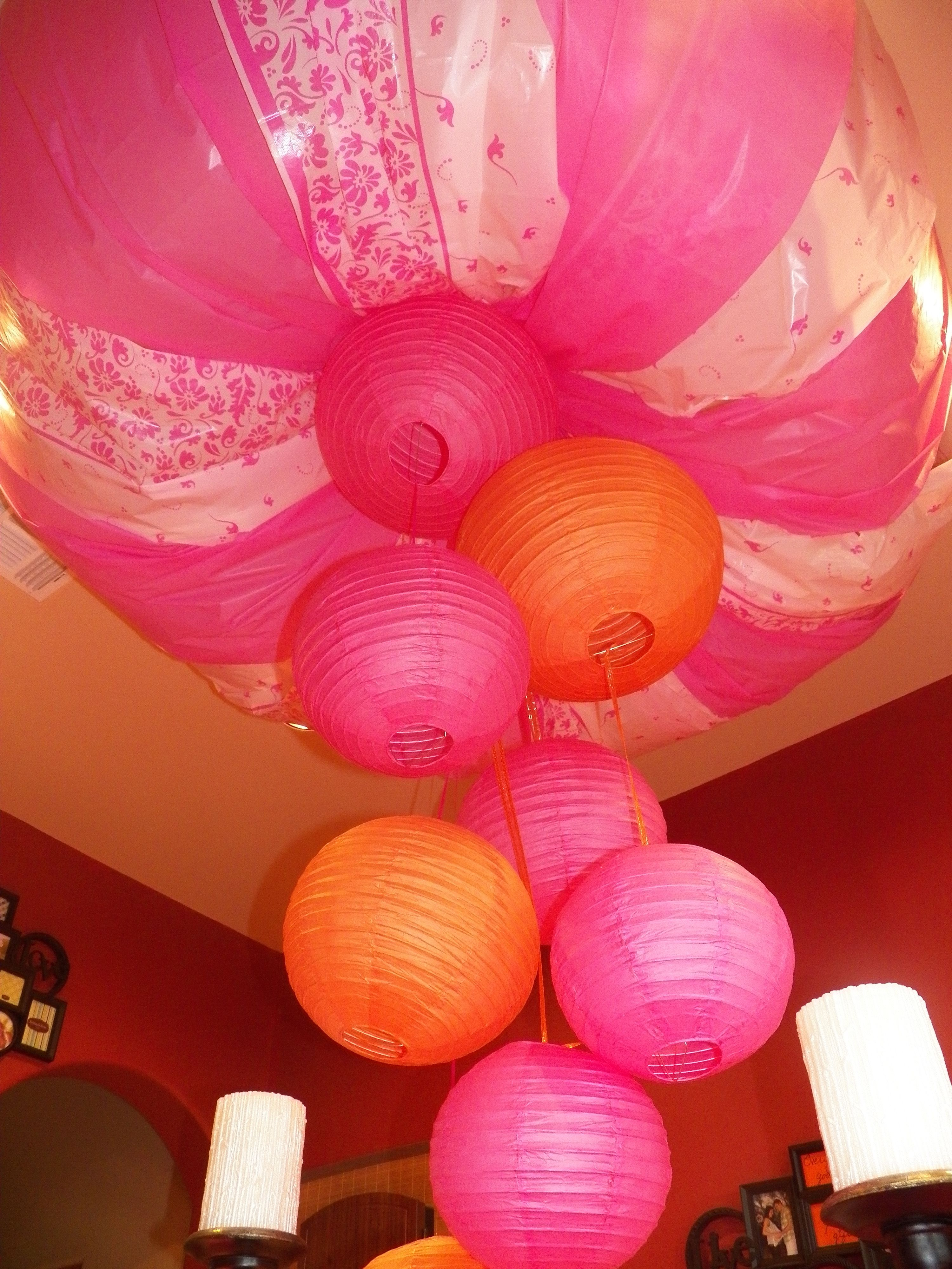 Pink And Orange Baby Shower Fall Baby Shower Ideas Pinterest