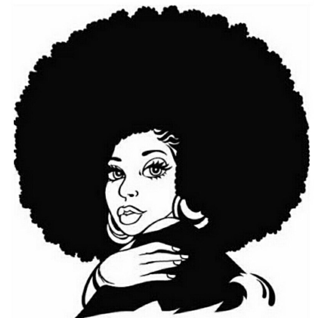 Browse Unique Items From Brooklyngirlfashion On Etsy A Global Marketplace Of Handmade Vintage And Creative Goods Silhouette Clip Art Female Art Black Art