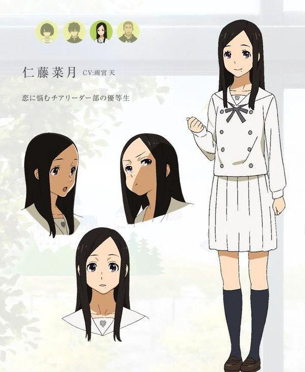 Kokoro Ga Sakebitagatterun Da #character #concept