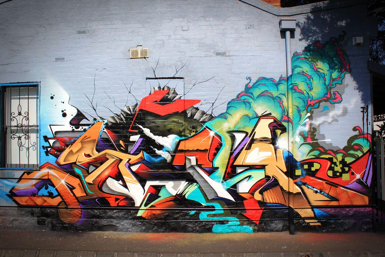 Graffiti art wallpaper - Graffiti