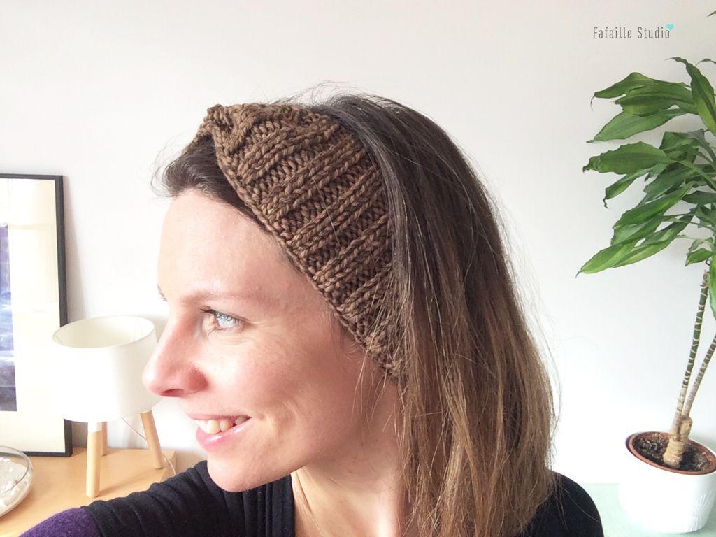 Tricot – Tuto du headband côtelé quick & easy