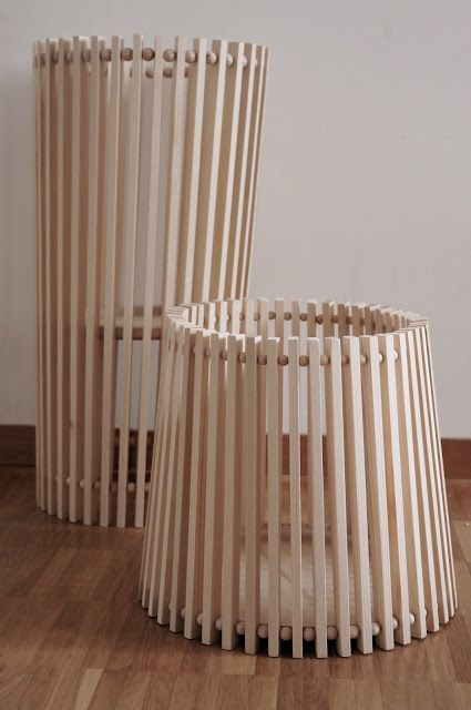 Korbe Aus Holzleisten Holzleisten Bastelzimmer Design Diy Holz