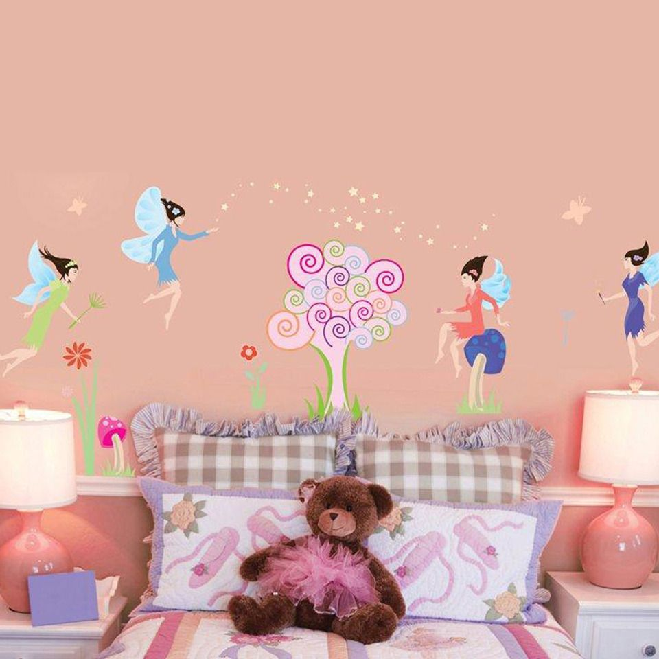 The Fairies Decorative Wall Decal