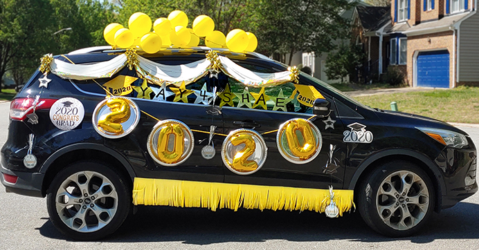 Be Safe And Social With These Drive By Party Ideas Graduation Party Decor Drive By Party Drive By Party Ideas